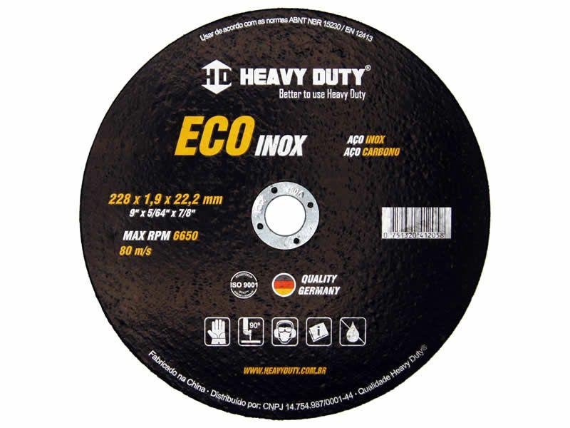 Disco de Corte Ecoinox 228X1,9X22,2 - 1 PÇS