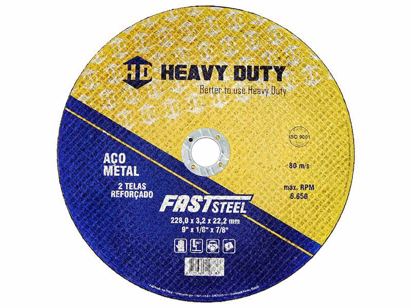 Disco de Corte FastSteel 228X3,2X22,2 - 1 PÇS