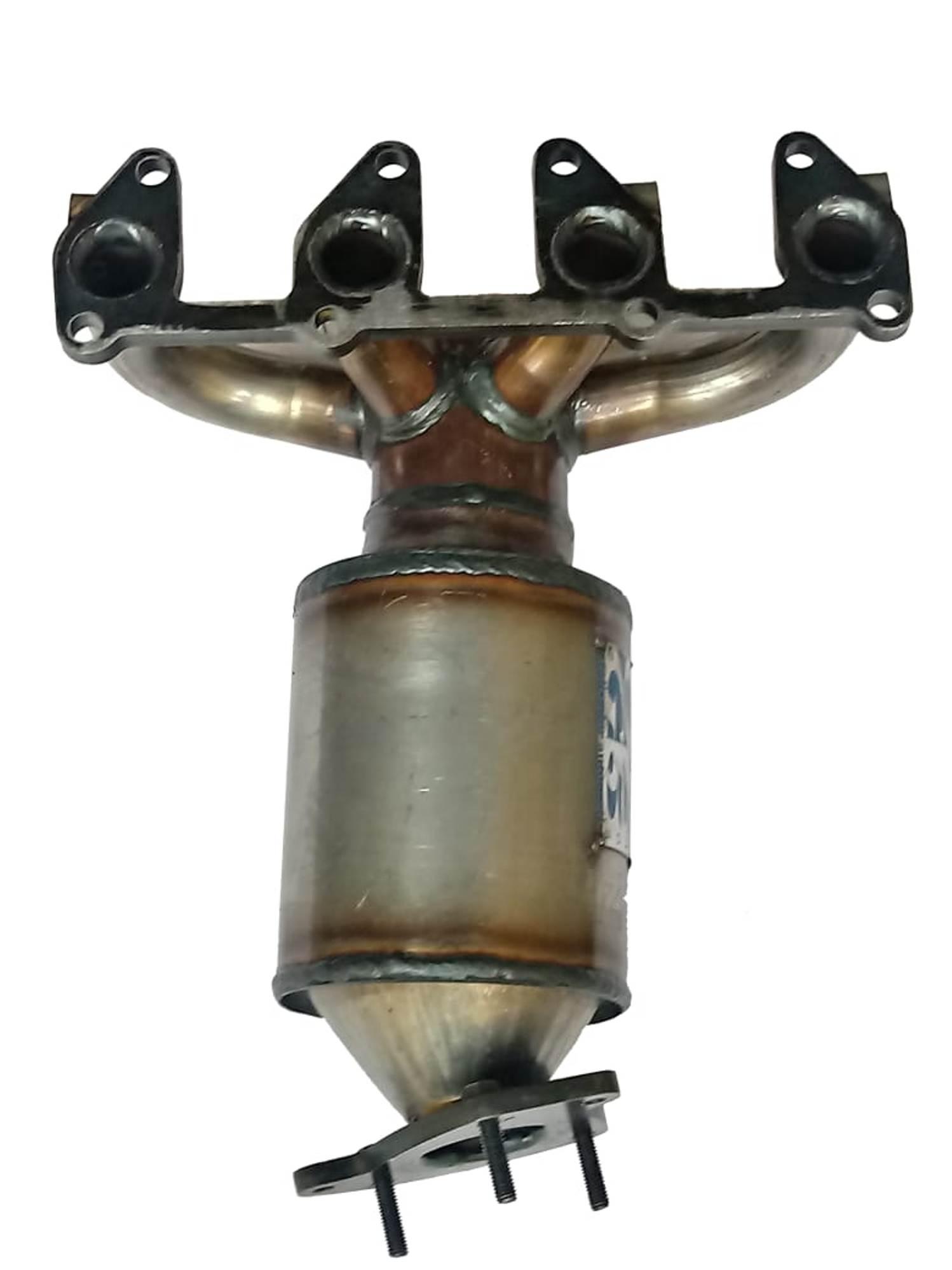 Catalisador com Coletor Chevrolet Cobalt 1.4/1.8 8v Flex de 2012 em diante