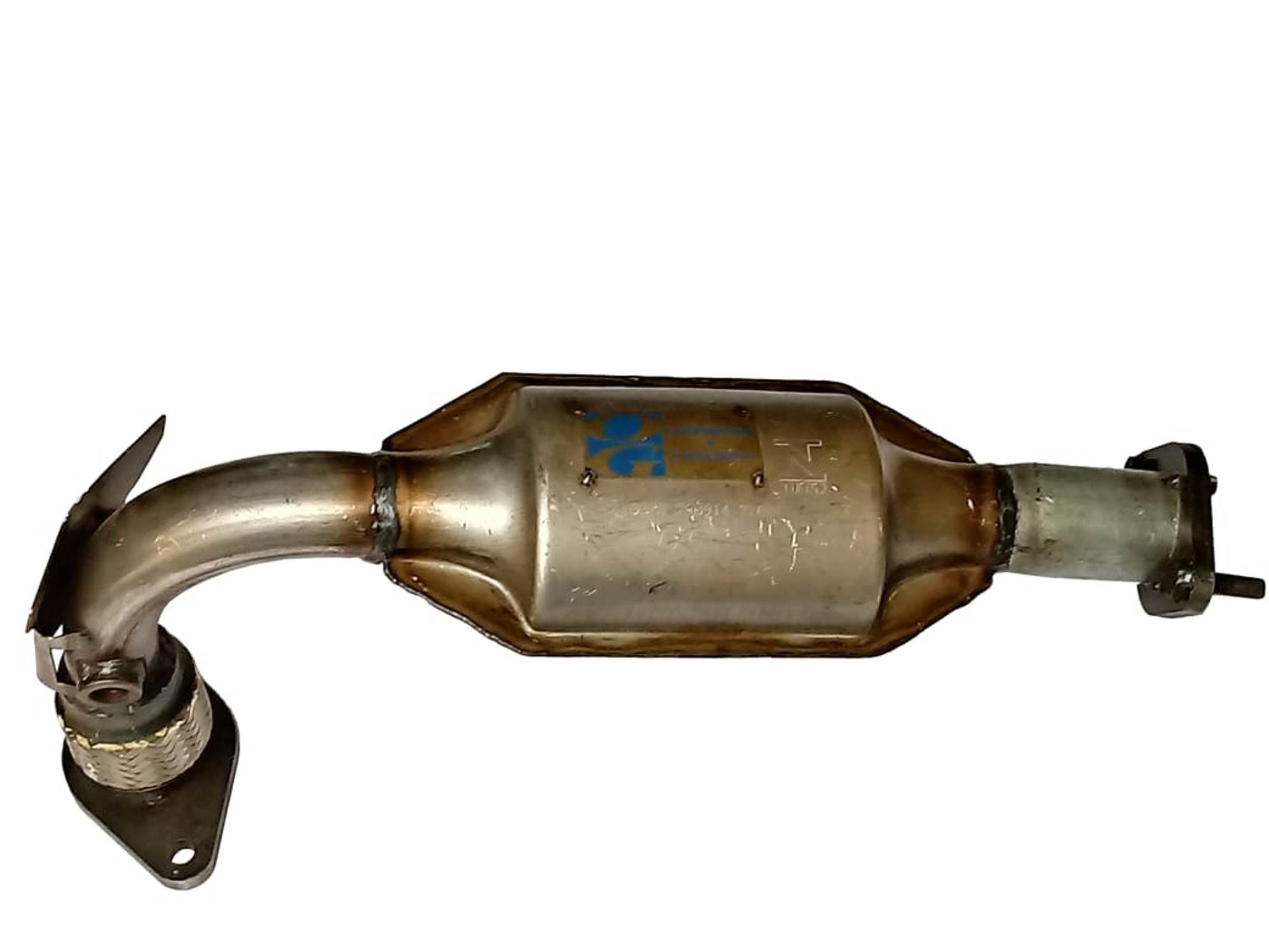 Catalisador  Escort 1.6 16V/S.W. - Zetec Rocam 00/...