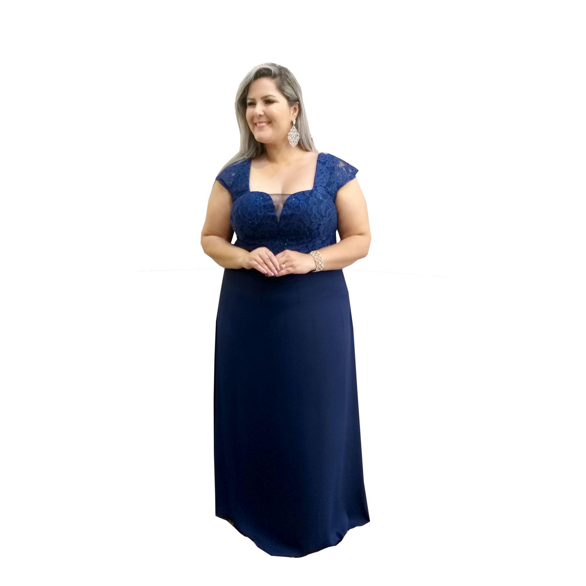 Vestido madrinha azul serenity comprar