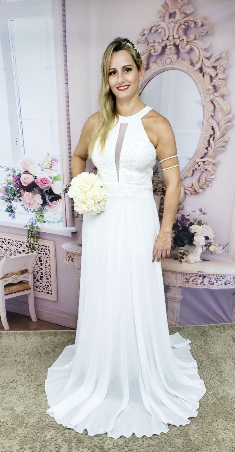 d5cfe72d199d ... Vestido Noiva Casamento Civil Praia Simples - Grife Velasco ...