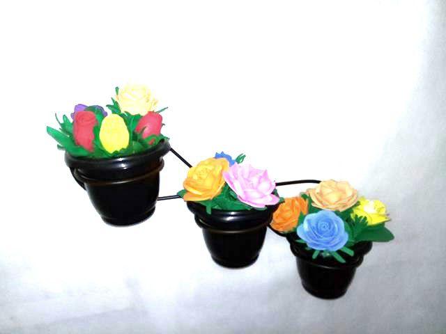 Floreira Tripla Horizontal