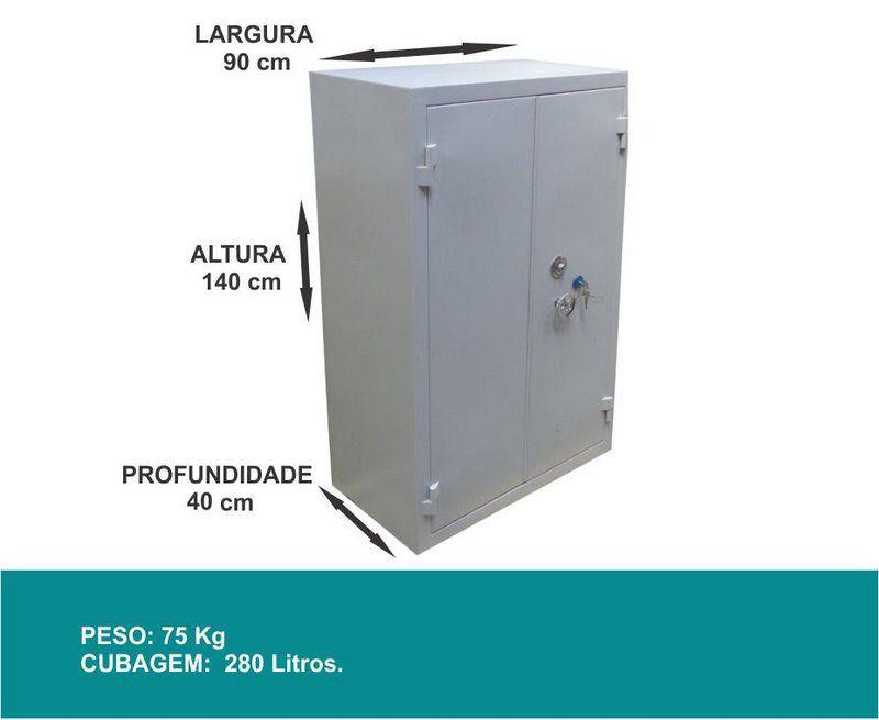 Armário Cofre para Armas - CA 140/90