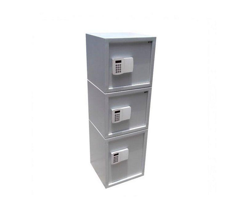 Cofre Eletrônico Digital - 3 Portas