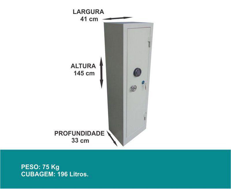 Cofre para Armas - CA 150/50