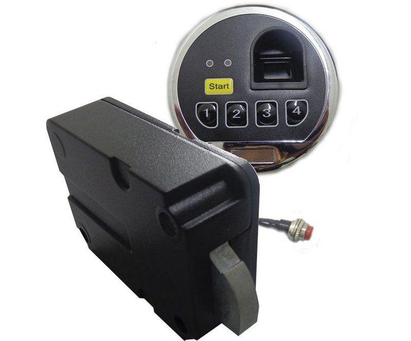 Fechadura Eletrônica Digital - Biométrica com Tranca - GS 03
