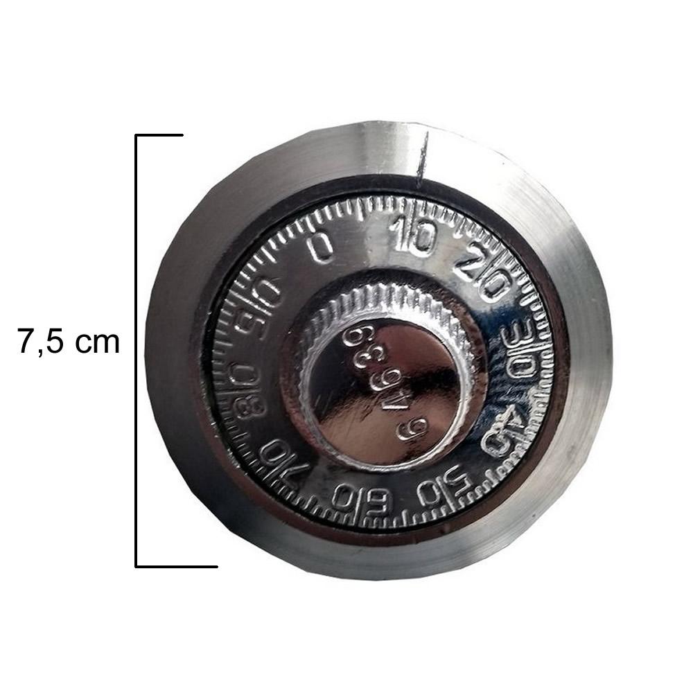 Fechadura Mecânica - Segredo - 3 Discos