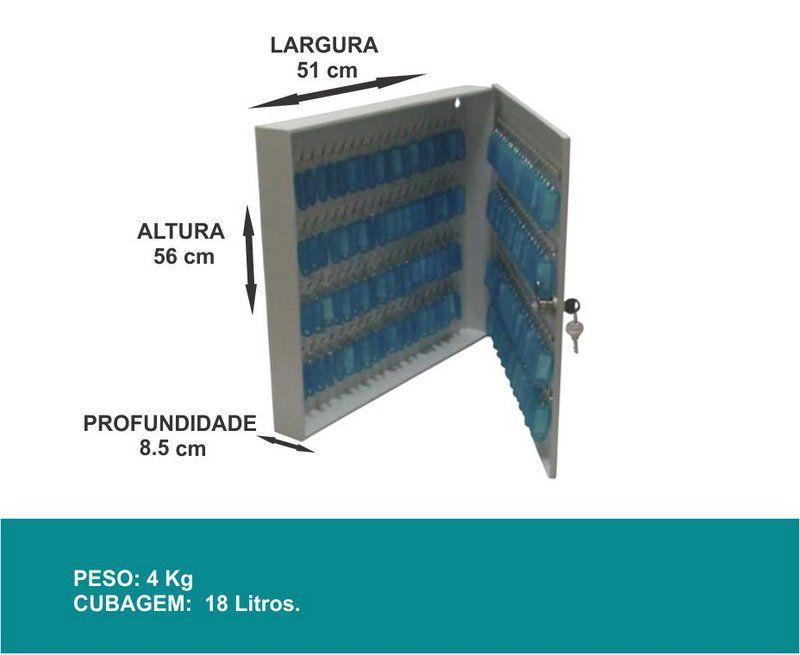 Porta Chaves - Claviculário - 160 Chaves