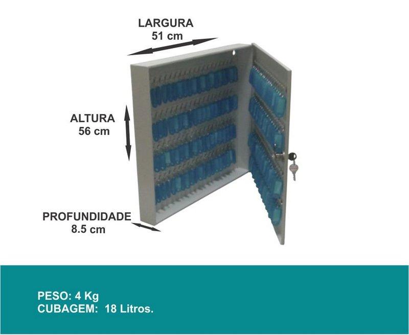 Porta Chaves - Claviculário - 160 Chaves - J