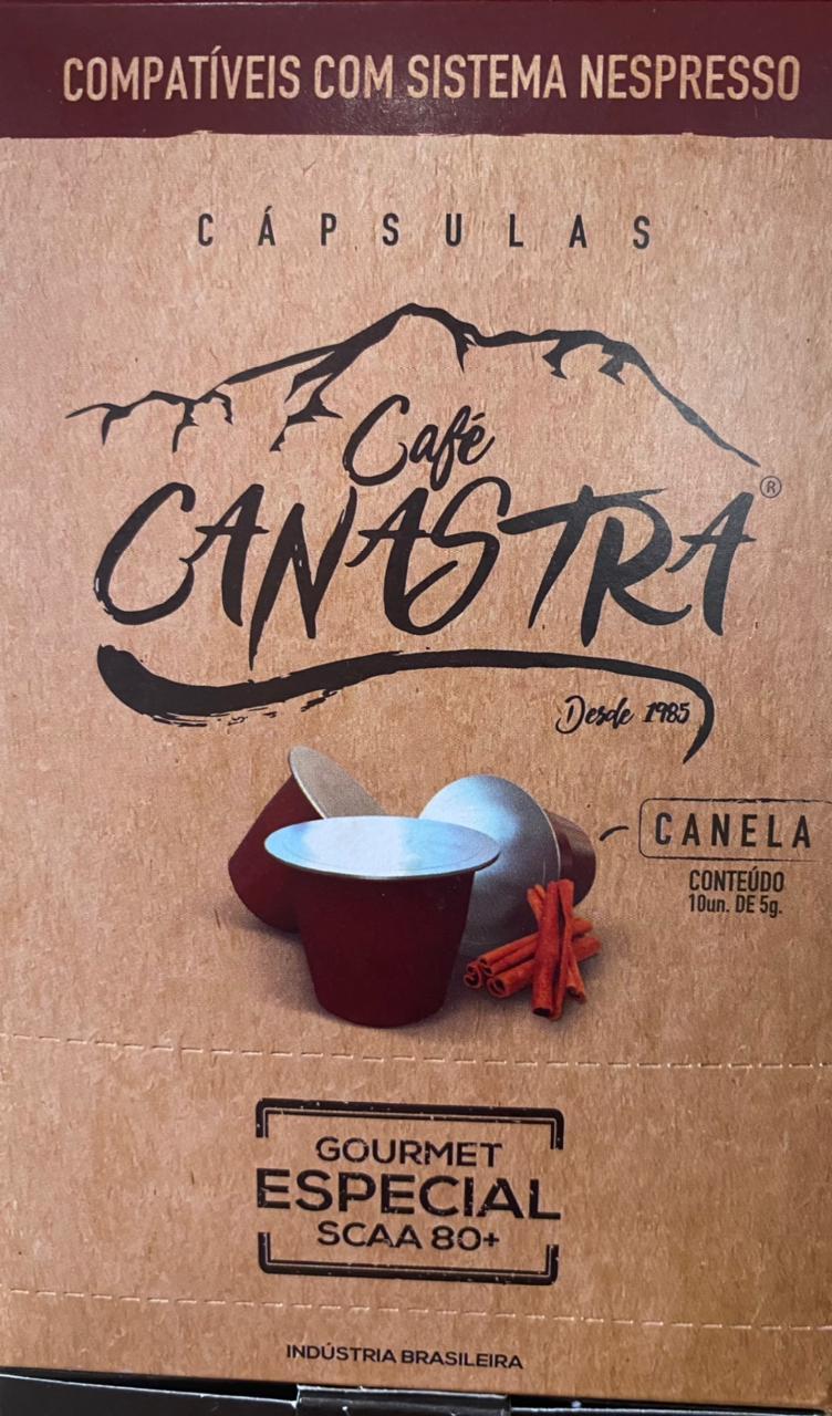 Café Canastra - Canela - Capsula compatível Nespresso - caixa 10 unid.