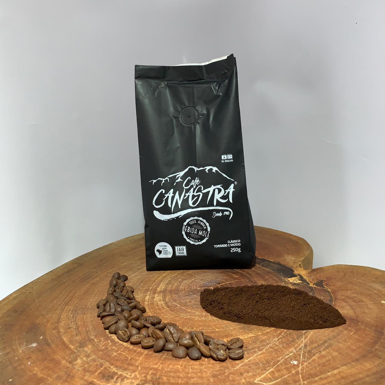 Café Canastra - Clássico - Torrado em grãos - 500g