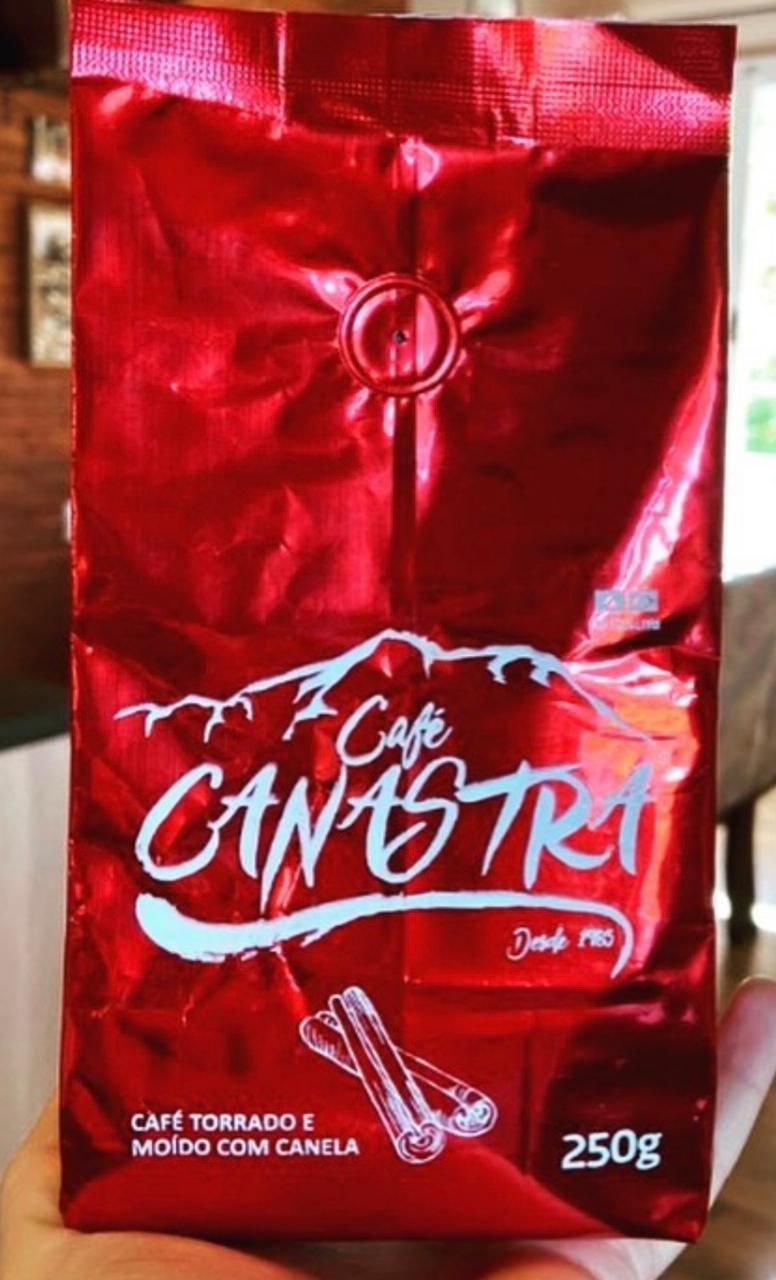 Café Canastra - com Canela - Torrado e moído - 250g