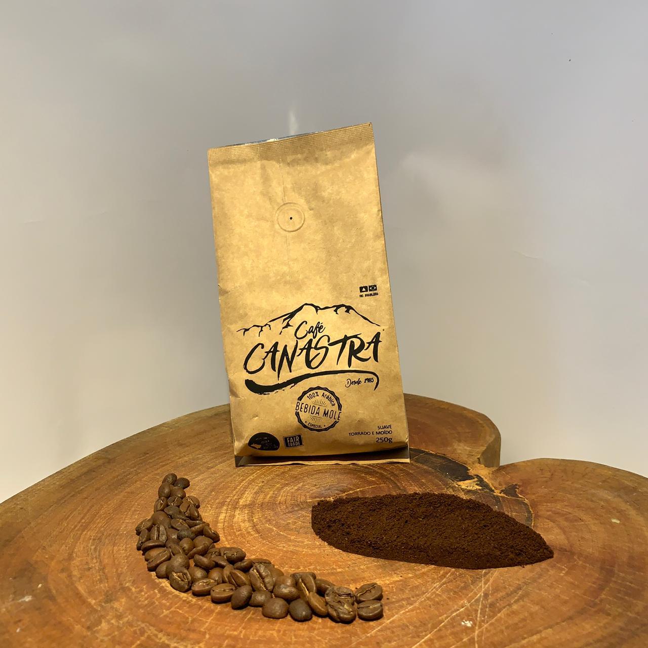 Café Canastra - Suave - Torrado e moído - 500g