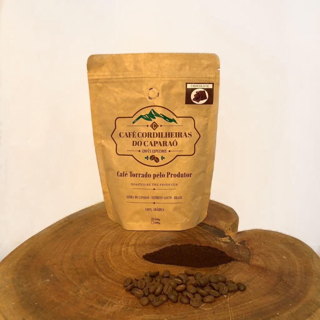 Café Cordilheiras do Caparaó - Chocolate - Torrado em Grãos - 500g