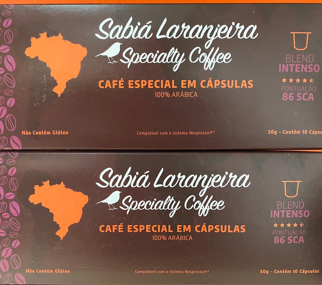 Café Especial em Cápsulas - Sabiá Laranjeira
