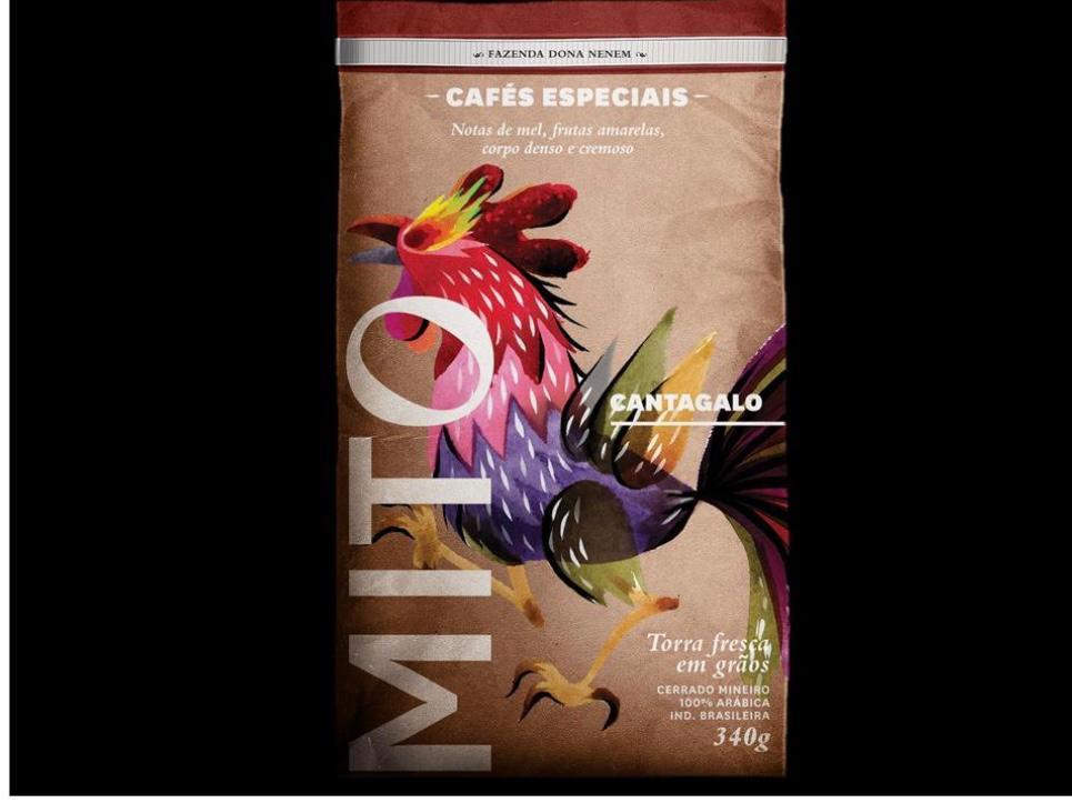 Café MITO - Cantagalo - Torrado moído e em Grãos - 250g