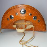 Chapéu de Lampião Cangaceiro Nordestino Laranja