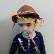 Chapéu Vaqueiro Nordestino Infantil Bebê