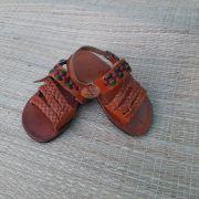 Sandália Infantil Trançada