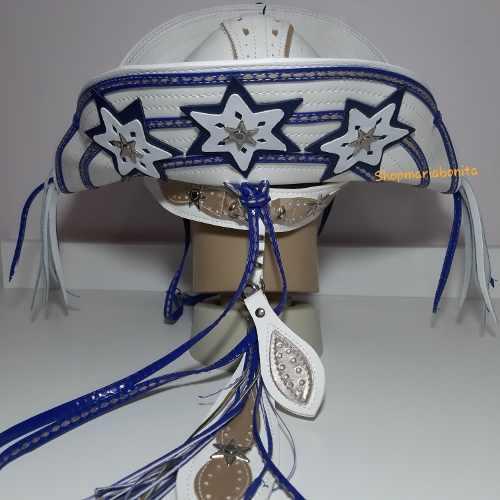 Chapéu Luiz Gonzaga Sanfoneiro Exclusivo Azul