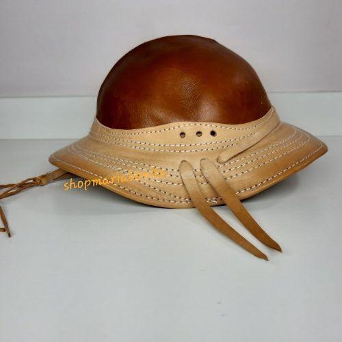 Chapéu em Couro Vaqueiro Nordestino Duas Cores