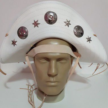 Chapéu de Cangaceiro Branco Lampião e Maria Bonita