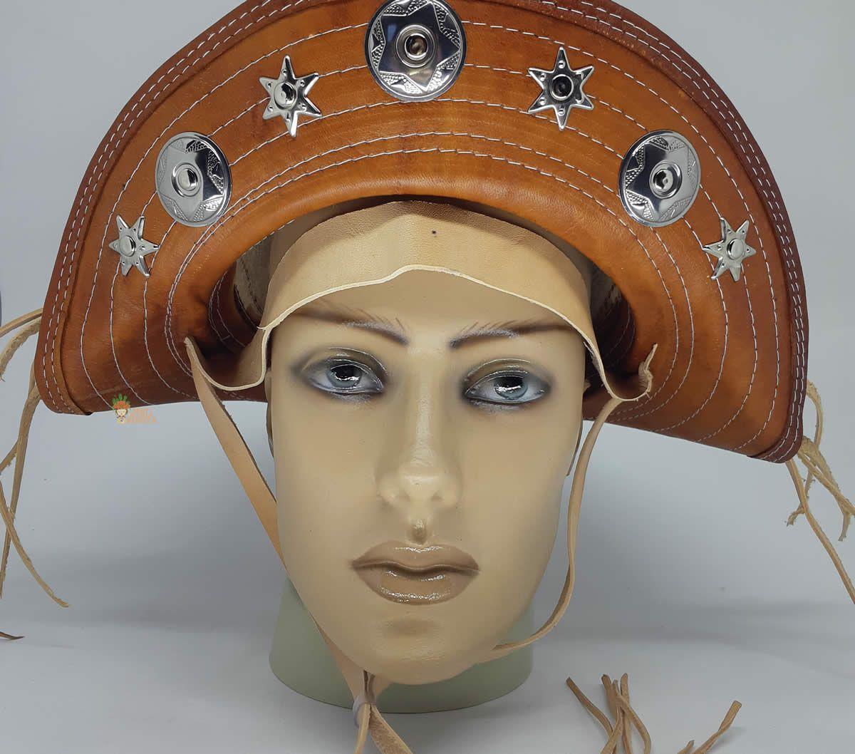 Chapéu de Cangaceiro Maria Bonita Abaulado