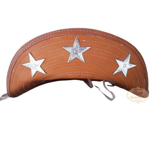 Chapéu de Lampião Cangaceiro Estrela 5 Pontas Exclusivo