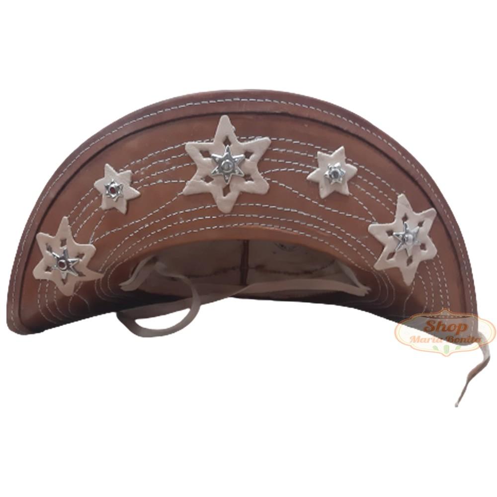 Chapéu de Lampião Cangaceiro Nordestino Exclusivo