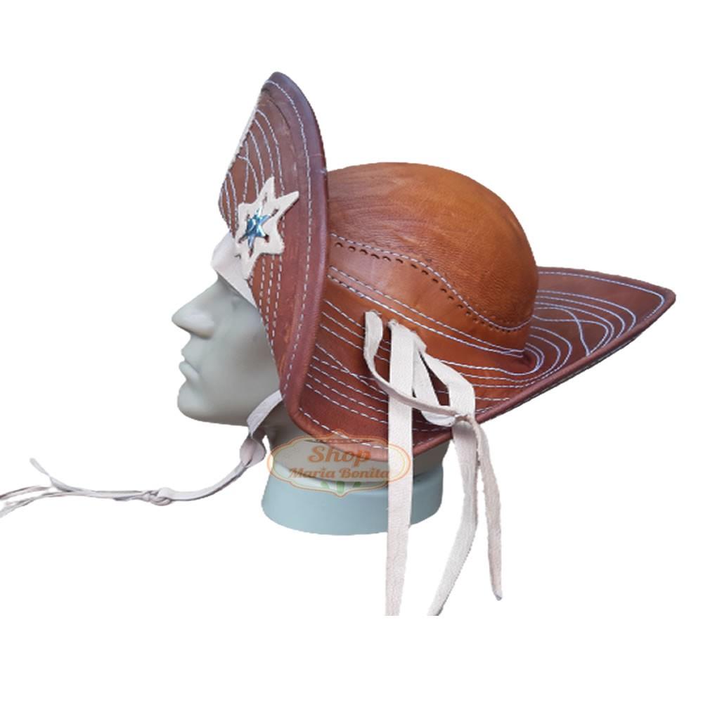 Chapéu Lampião Cangaceiro Flor de Mandacaru Exclusivo