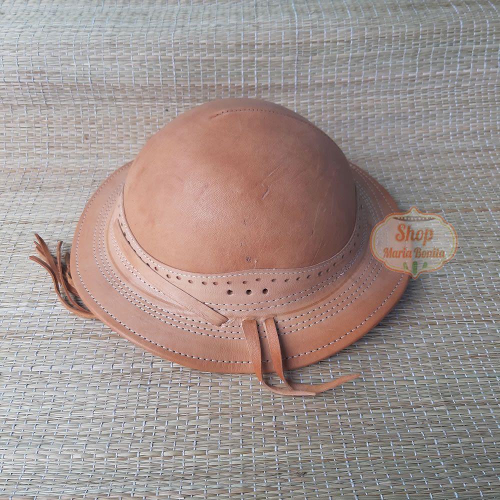 Chapéu Vaqueiro Nordestino Couro
