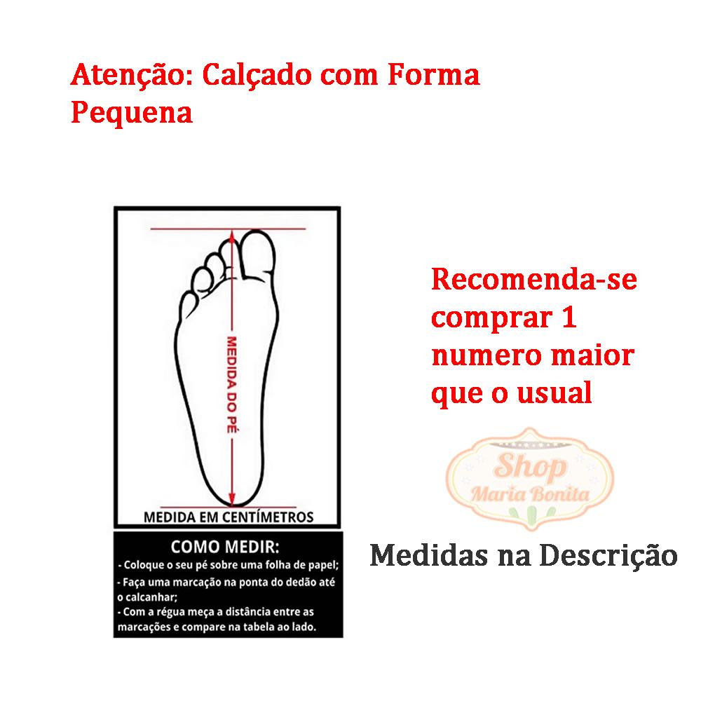 Sandália Cafona Bico Fechado