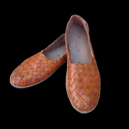 Sapato em Couro Tressê Masculino