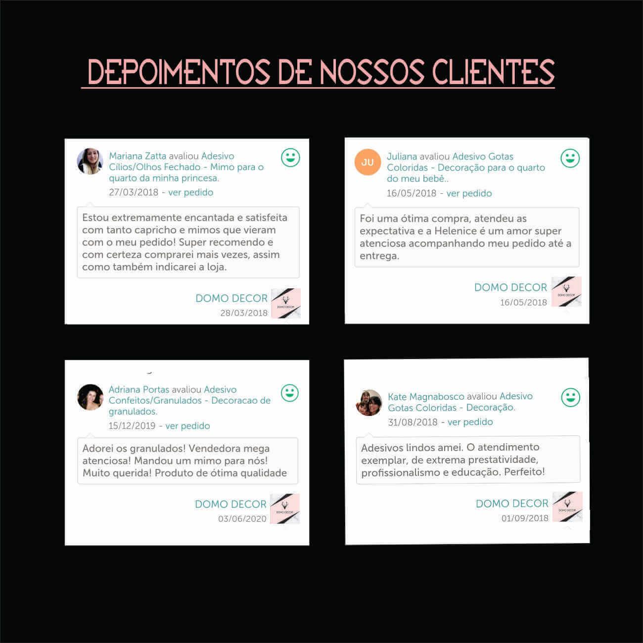 ADESIVO PEGADAS INTEIRAS E VAZADAS