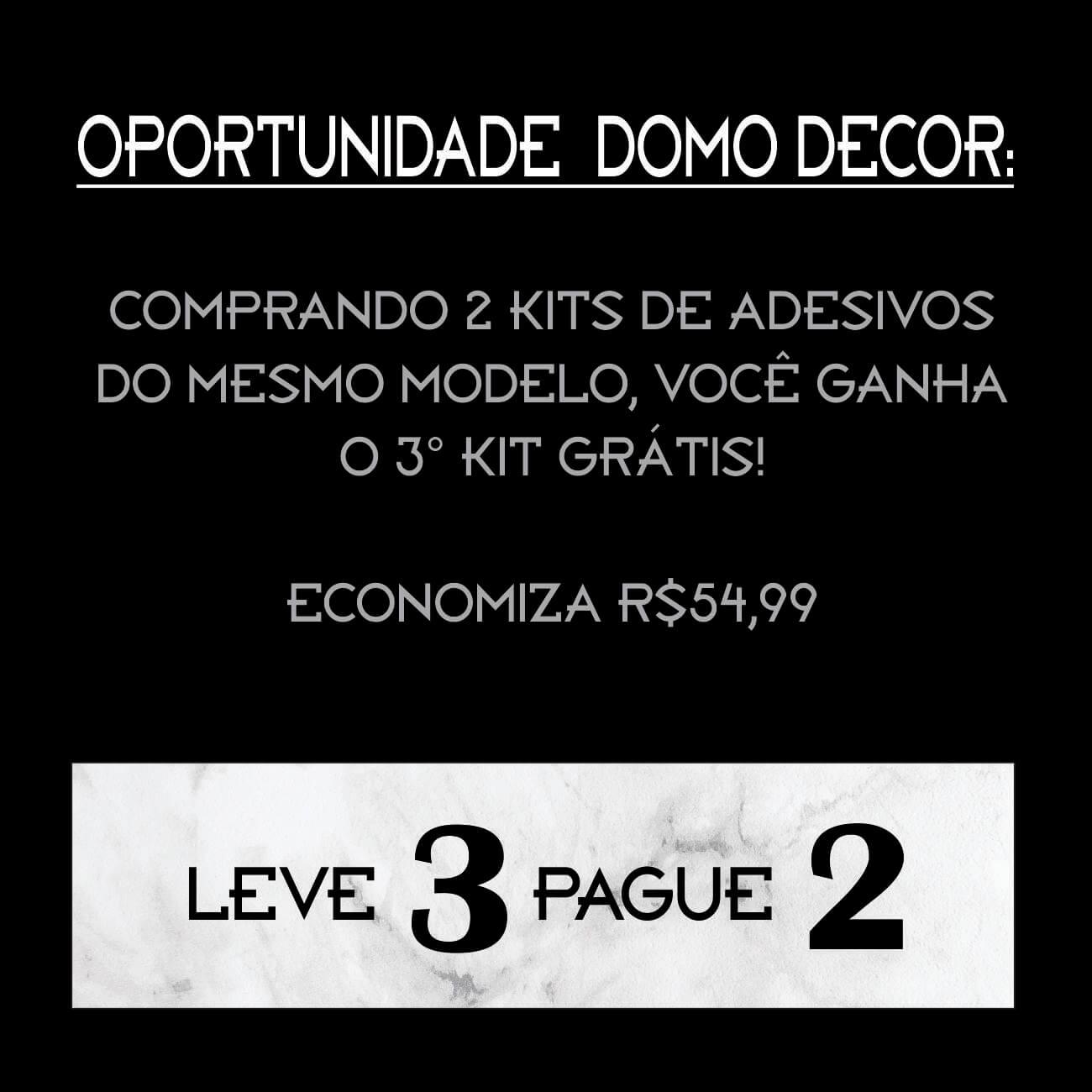 ADESIVO TRIÂNGULO SEMI VAZADO