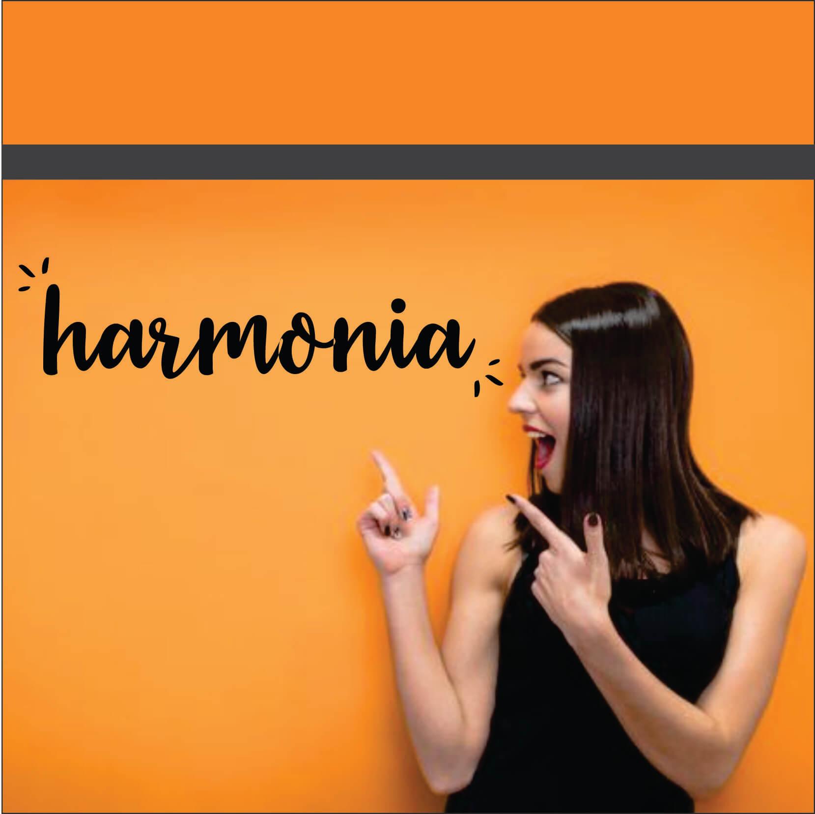 HARMONIA PALAVRA ADESIVA