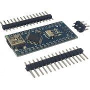 Placa nano pino não soldado com cabo USB (compatível com arduino)