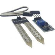 Sensor umidade solo higromêtro