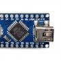 Placa Nano V3 Pino Não Soldado com Cabo USB (Compatível com Arduino)