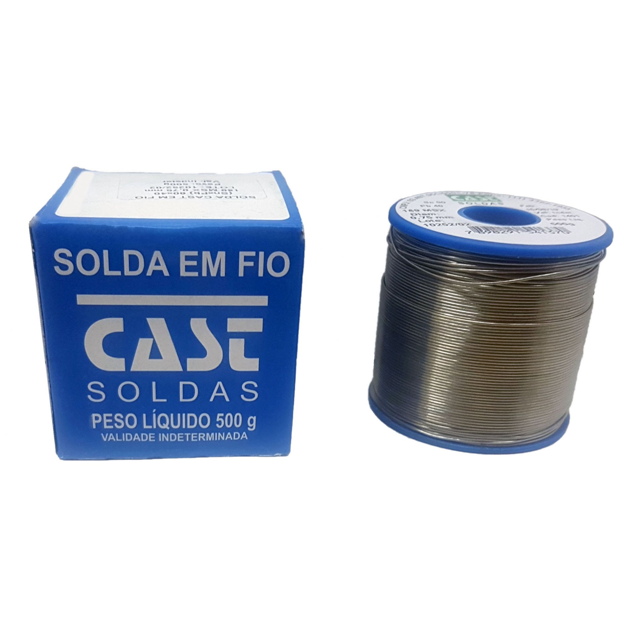 Carretel de Solda 500 Gr 0,75 mm