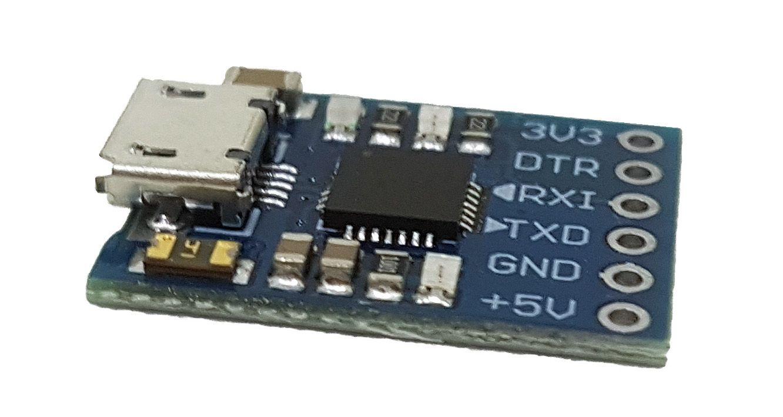 Conversor Micro USB x TTL CP2102