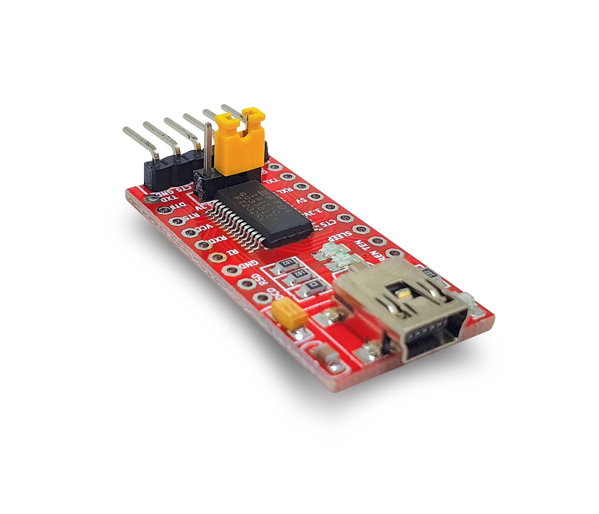 Conversor USB X FTDI232