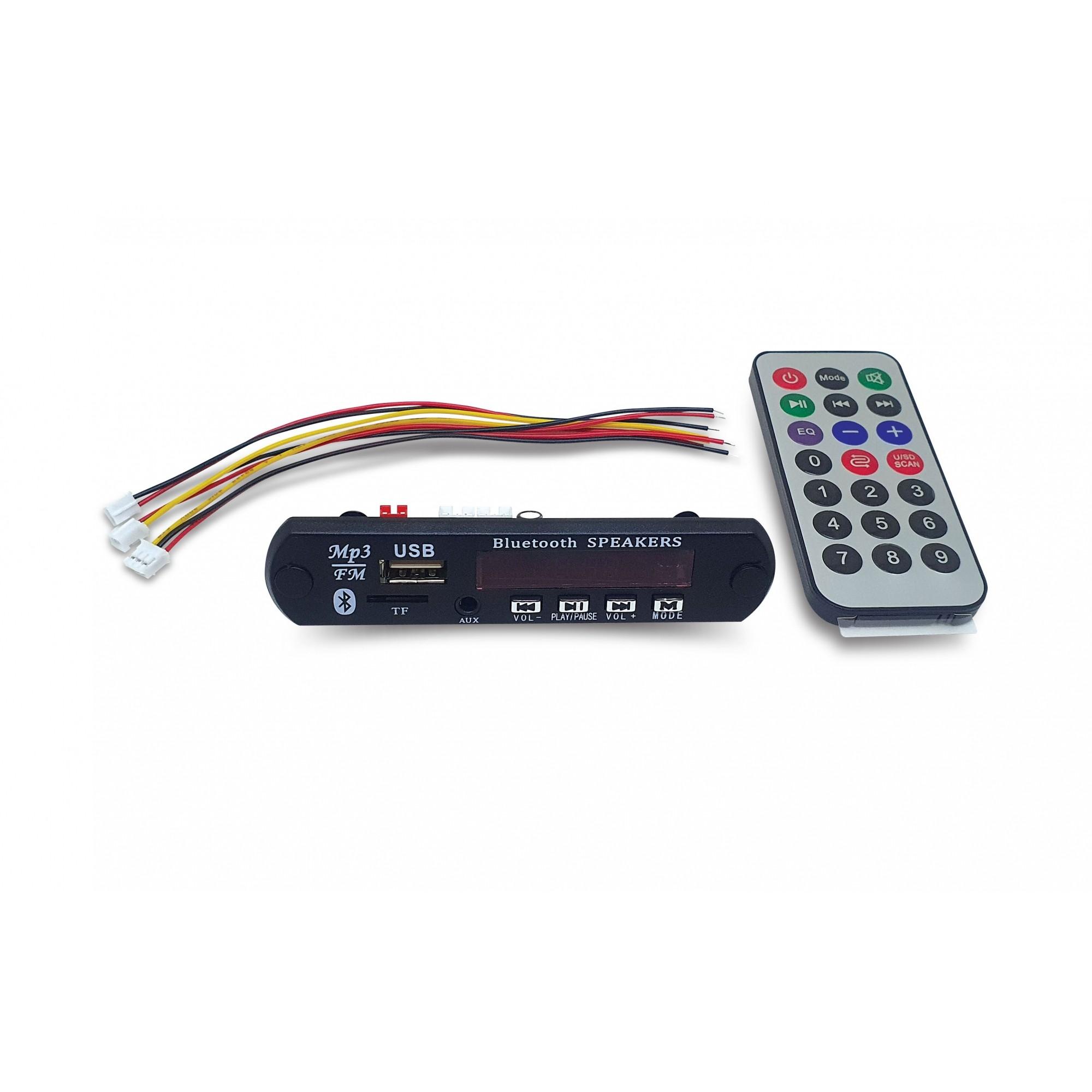 Decodificador Módulo de Áudio Sem Fio Bluetooth
