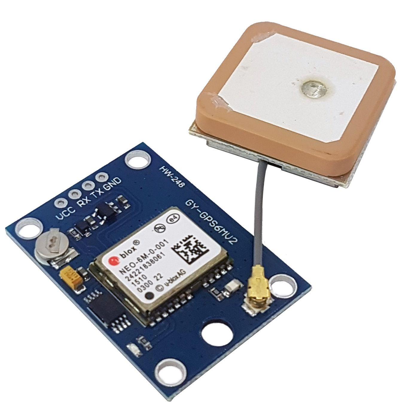 GPS Neo-6M com antena