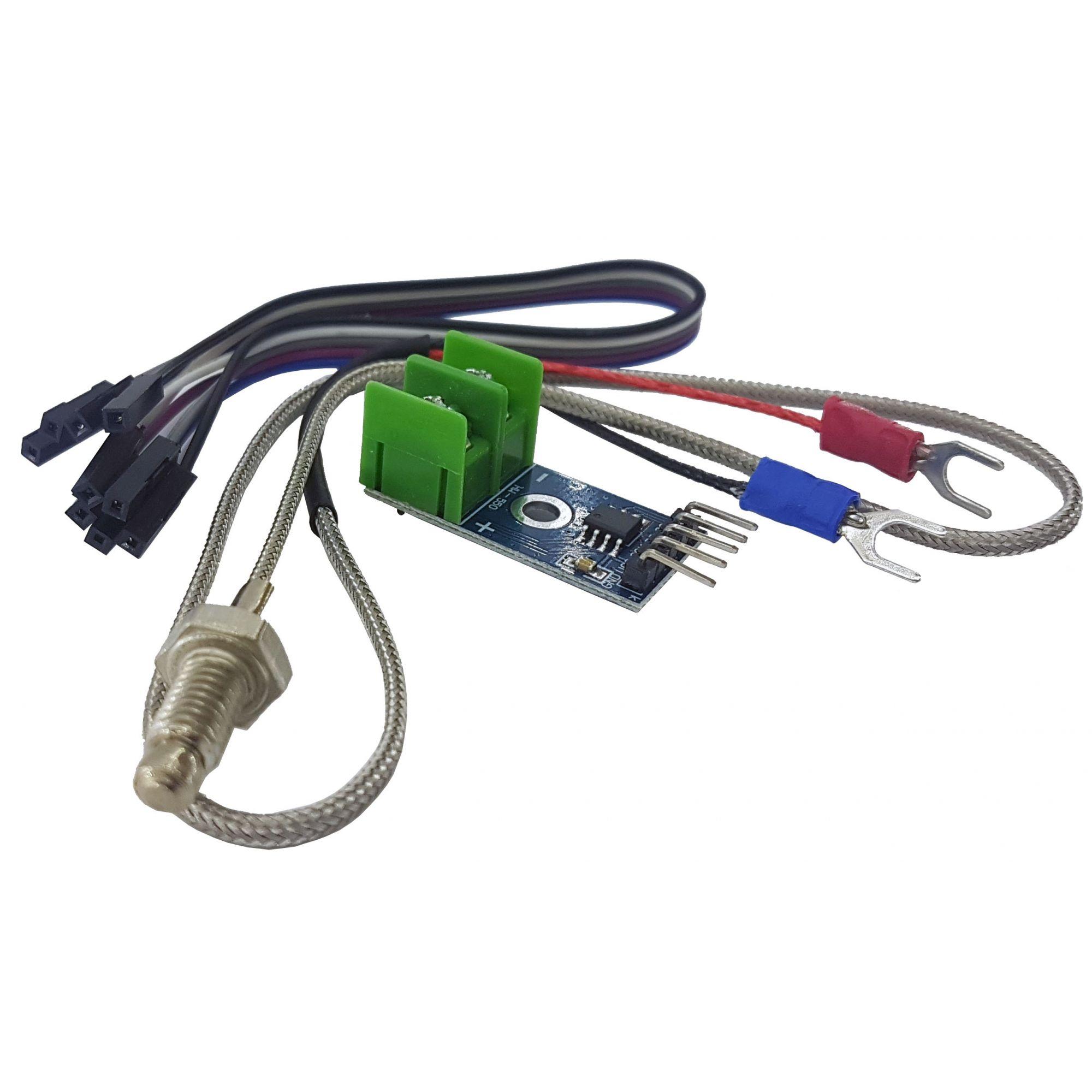 Sensor de Temperatura MAX6675 com Termopar Tipo K