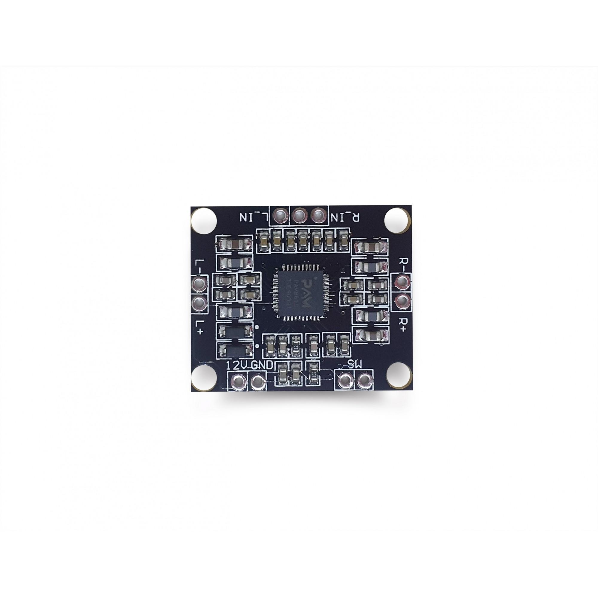 Mini amplificador PAM8610