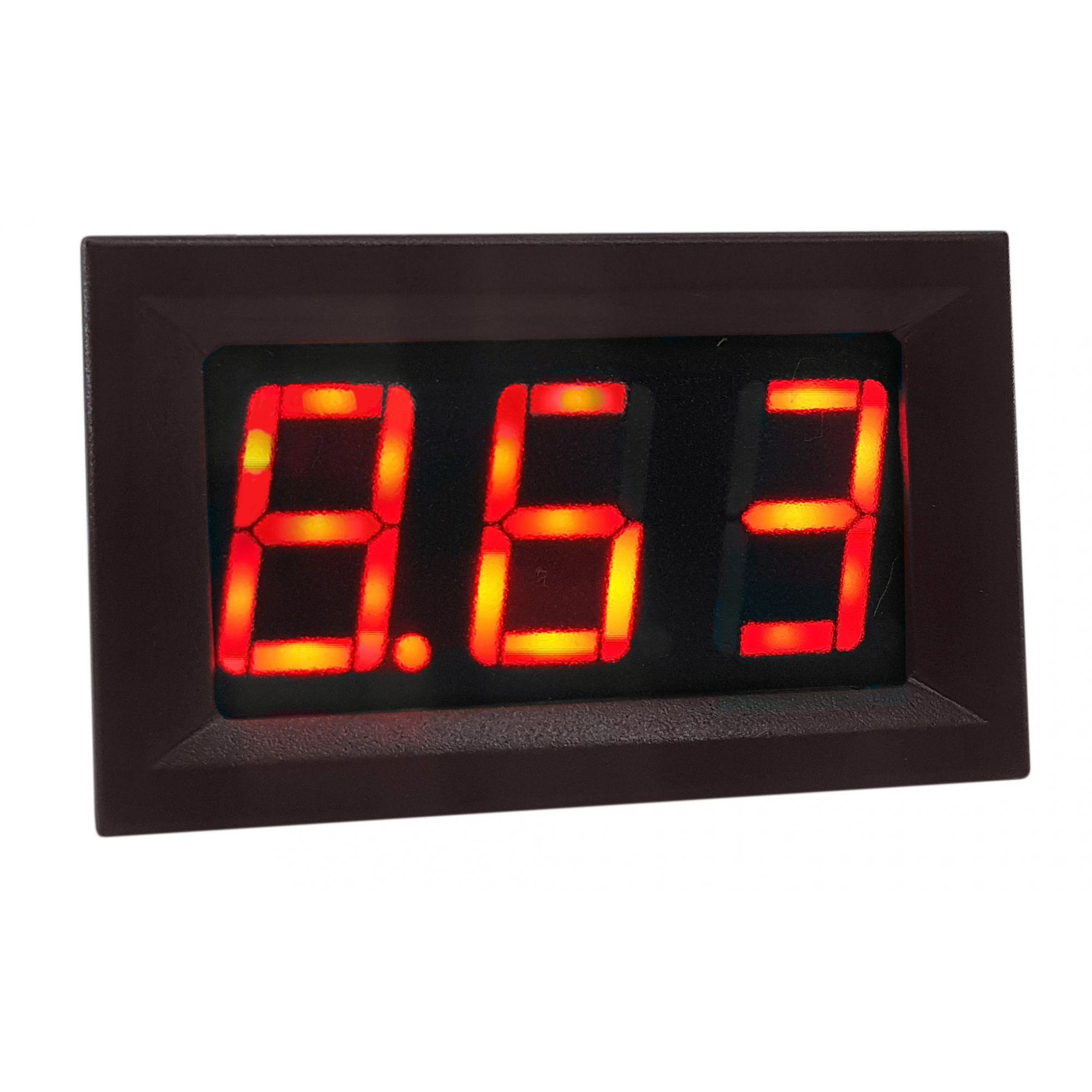 Mini Voltímetro 4 – 30 VDc