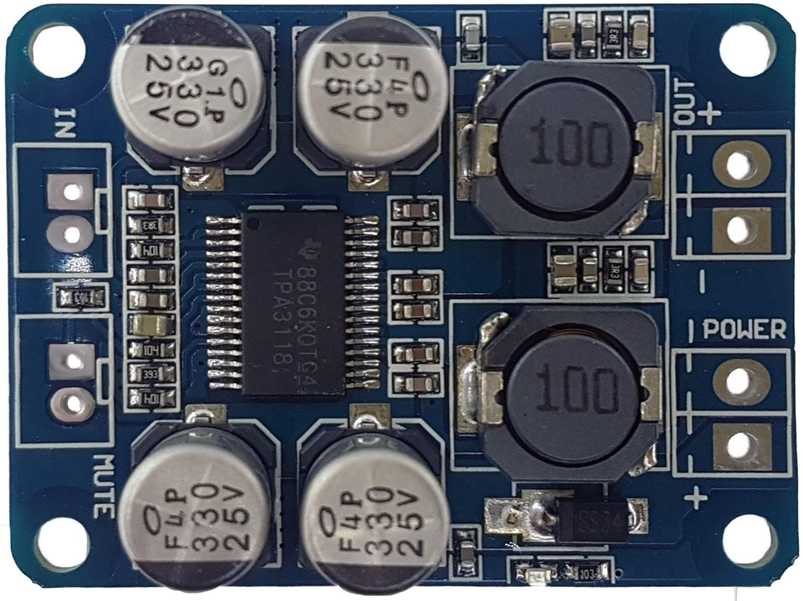 Módulo amplificado TPA3118