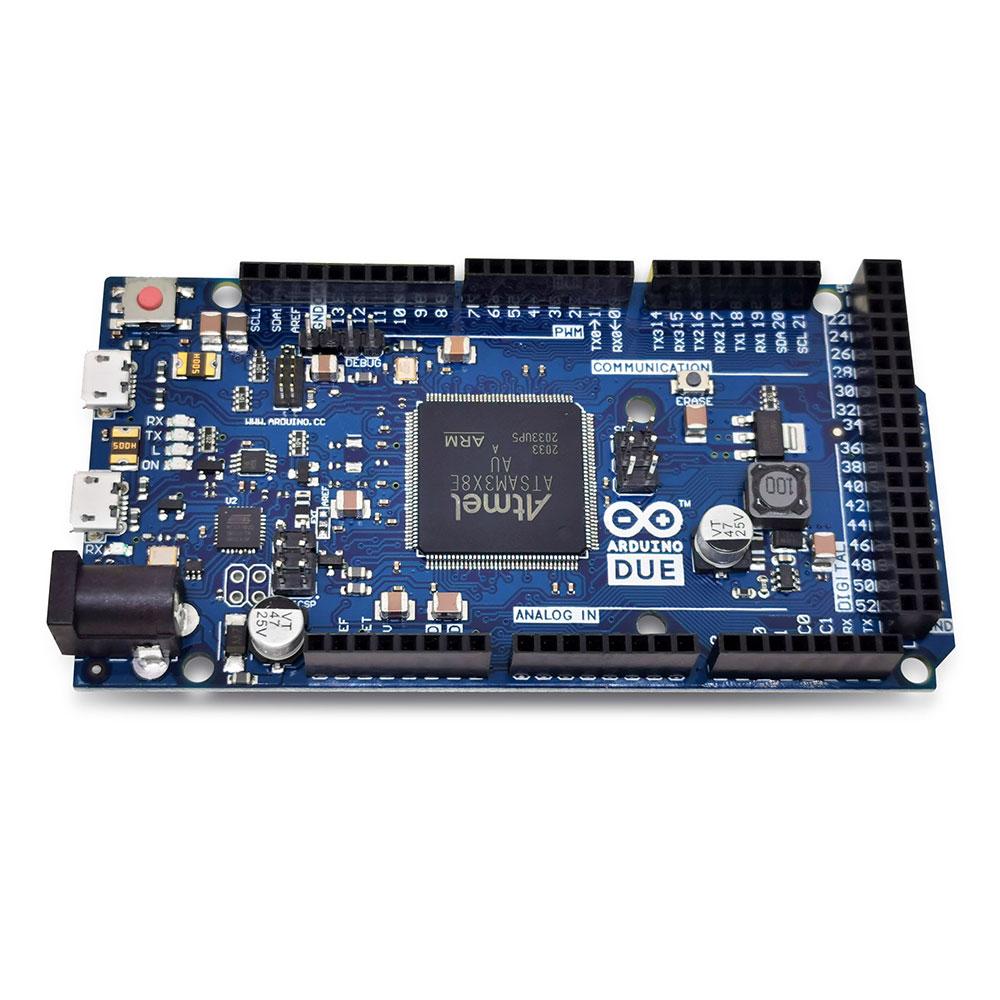 Placa Due com Cabo USB Atmel SAM3X8E (Compatível com Arduino)
